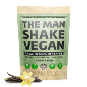 The Vegan Man Shake Vanilla